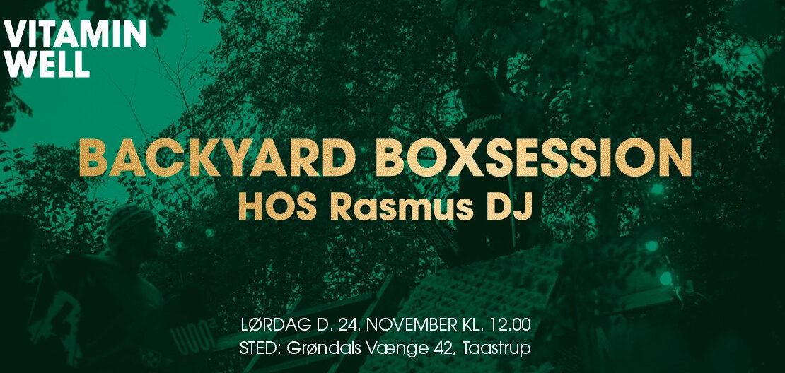 Backyard box Rasmus DJ