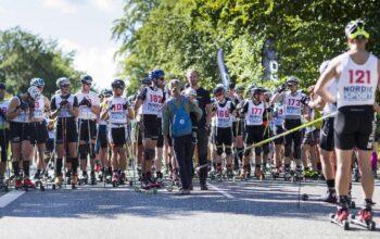 DM rulleski,lang distance / Kongevejsløbet 2016 den 18. September 2016. Foto: Mogens Hansen